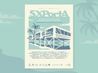 SXPortA Screenprint Poster