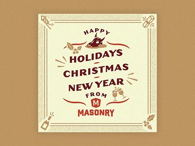 Masonry Holiday texas masonry new year christmas holiday