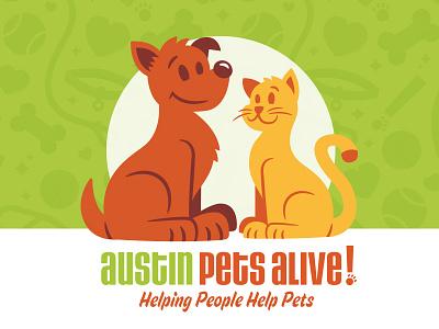 APA! Pals cat dog mascot pets adoption austin apa austin pets alive