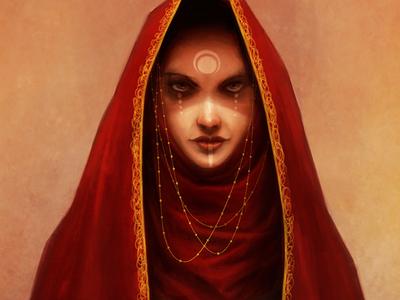 High Priestess concept art character art art fantasy art digital artist illustration digital art