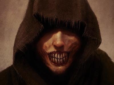 Dark Mage creepy gothic horror concept art art character art fantasy art digital artist illustration digital art