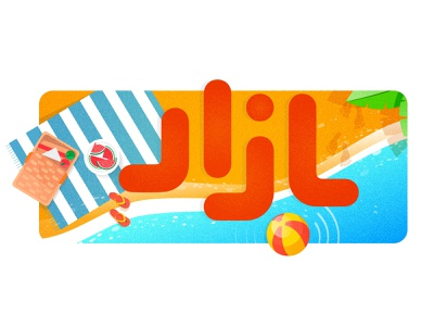 logo illustration (summer) 2/4 ui design market cafebazaar summertime summer party summer camp summer ui illustration logo flat app ui icon vector ux uiux branding design illustration