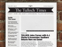 WIP: The Tulloch Times