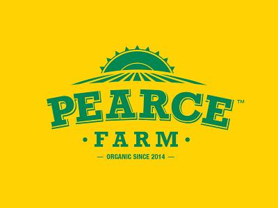 Pearce Farm market gardening australia gardening logo farm