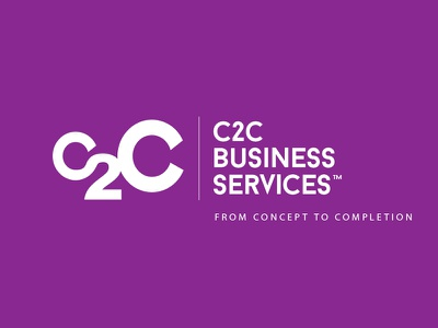 WIP: C2C Business Services white mentor 2 c c2c concept services busines purple