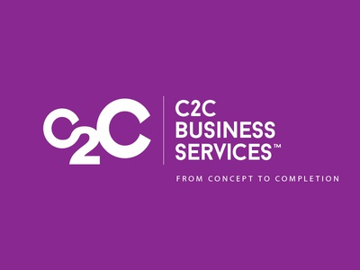 WIP: C2C Business Services white mentor 2 c c2c concept services busines purple