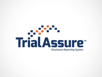 TrialAssure™ dna clinical research check mark results testing software information biotech data trial assure reporting logo