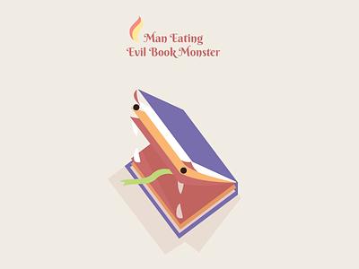 Not cool bro. illustration book evil monster isometric character game face teeth dangerous boss nemesis
