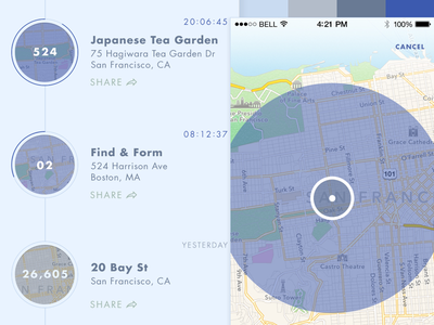 The Collective – Style C ui color maps location style tile