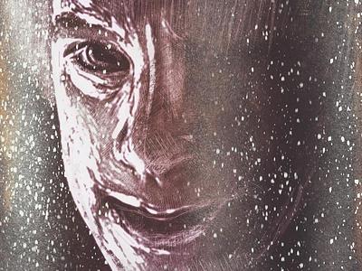 Stranger In The Night mextures portrait illustration procreate brushes procreate app procreate digital painting ipadproart digital illustrations digitalart applepencil illustration digital illustration