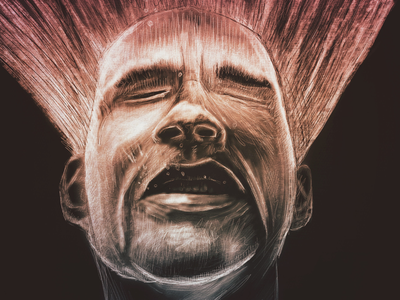 Euphoria drawn face digital illustration illustration procreate apple pencil ipad pro ipad euphoria