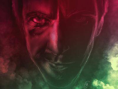 Legion on FX - Season 3 illustration procreate app procreate digital illustration dan stevens david haller legion fx legionfx legion on fx legion