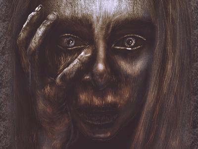 Ghoul mextures procreate apple pencil ipadproart portrait illustration digital illustrations digitalart applepencil illustration digital illustration