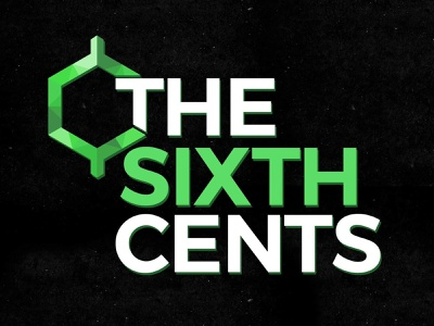 The Sixth Cents Logo Design freelance custom cool typography branding design branding instagram social media facebook cover photo finance logo