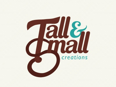 Tall & Small Logo - Revisited logo blue fun