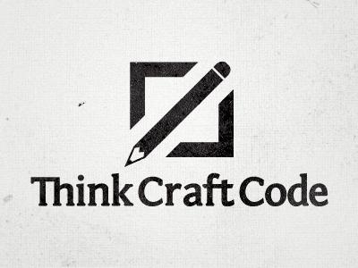 Think Craft Code - Logo V4 logo code craft think