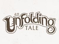An Unfolding Tale - Logo Concept