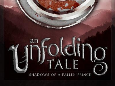 An Unfolding Tale Cover Concept fantasy cover logo concept