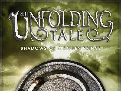 An Unfolding Tale Cover Concept - Version 2 fantasy cover logo concept green epic