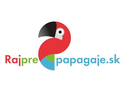 Rajprepapagaje.sk Logo