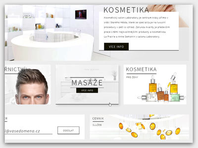 Website about Beauty