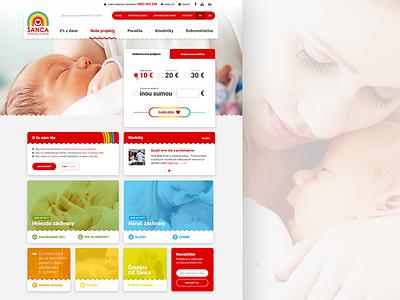 OZ Sanca / Retro Design colors dashes dashboard mockup home news cover ui ux page webdesign website