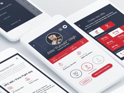 CageHunter MMA iOS App
