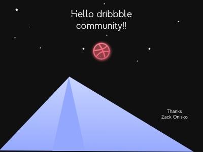 Hi dribbble design