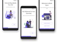 E-Book Store concept
