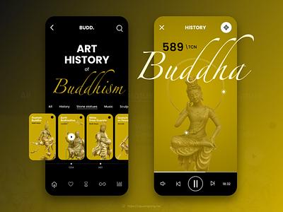 Budd. App app ui design ui