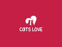 Cats Love - Logo Design