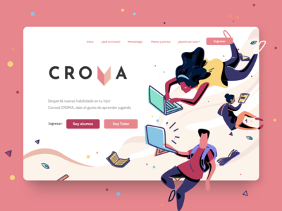 Educational Website - Croma