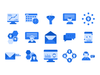 Sales + Marketing Icons