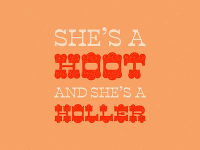 Hoot + Holler