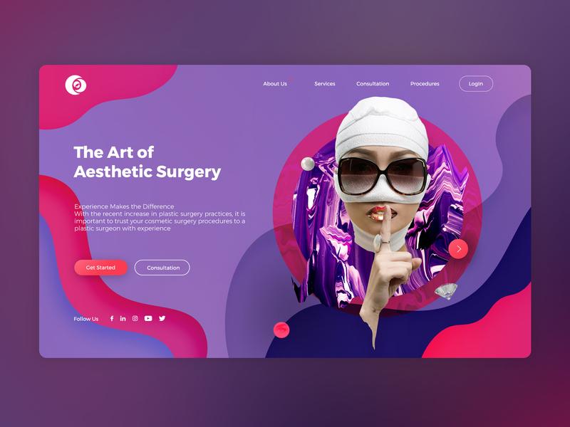 Plastic Surgery Website By Jb Design Studio website branding graphic  design web ui ux