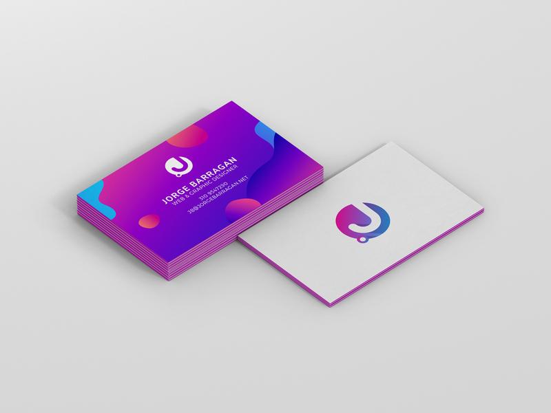 New Business Cards jb design studio logo graphic  design branding business card