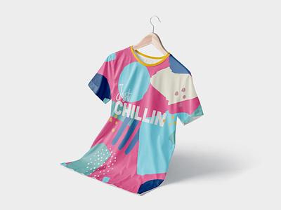 Just Chillin T-Shirt Design t shirt design pattern design graphic  design