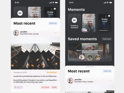 Social Network ux app design app social network