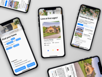 App Sauce Property app design