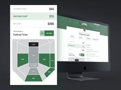 Chicago Huntsmen Ticket Checkout Design shop cod cdl tickets website ui team huntsmen green gaming esports chicago call of duty