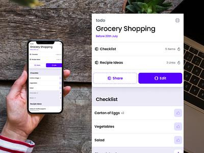 Doit app UI purple tools mobile ui todo app app todo doit