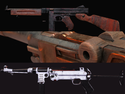 Game Weapon Skins #1