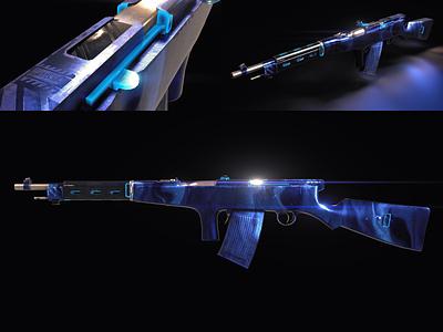 Game Weapon Skins #2 modern ww2 weapon game video substancepainter substance skins painting gun gaming battalion