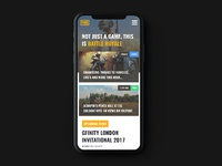 Dribbble homepage mobilemockup 2x