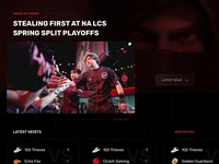 100 Thieves - Esports team homepage