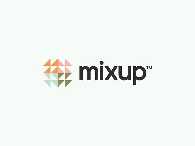 Mixup color identity typography logo branding design