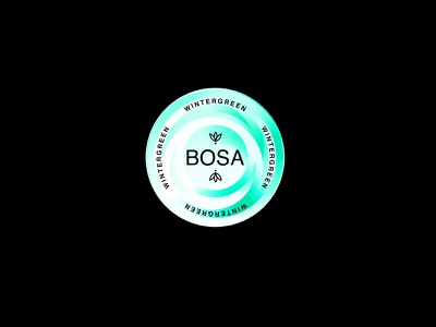 Bosa Tin Cans shapes color typography logo branding design feedbackplease