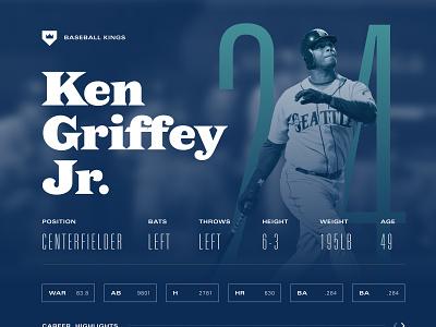 Baseball Fun branding figma ux ui typography baseball design