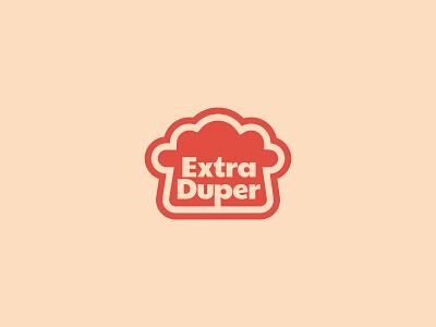 ExtraDuper illustrator shapes color identity typography logo branding design
