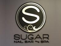 Sugar Spa Logo & Signage